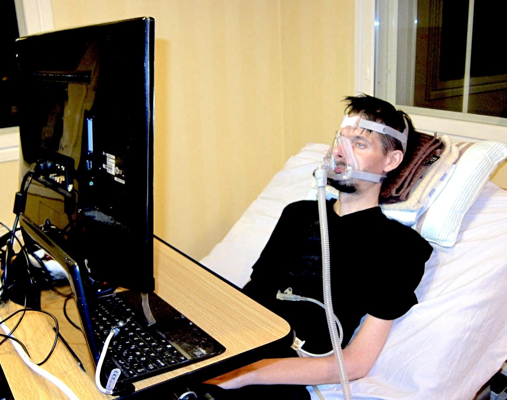 hengityskoneessa olevan potilaan hoito